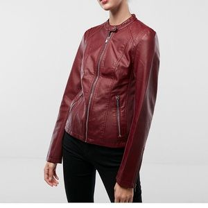 Express (Minus the leather) Red jacket
